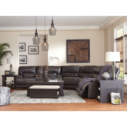 McCaskill Gray 2 Seat Reclining Sectional
