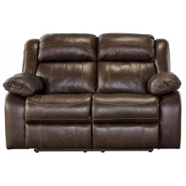 Branton Antique Reclining Loveseat