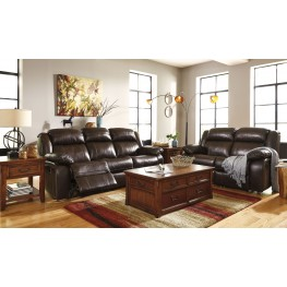 Branton Antique Power Reclining Living Room Set
