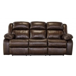 Branton Antique Reclining Sofa