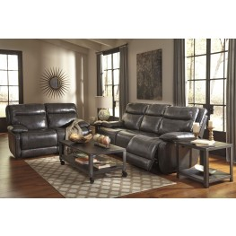 Palladum Metal Reclining Living Room Set