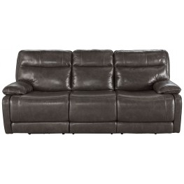 Palladum Metal Power Reclining Sofa