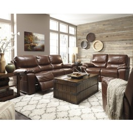 Penache Saddle Power Reclining Living Room Set