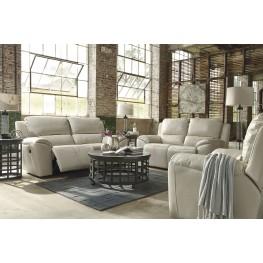 Valeton Cream Power Reclining Living Room Set