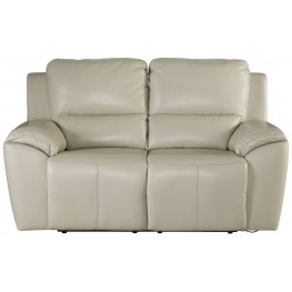 Valeton Cream Reclining Loveseat