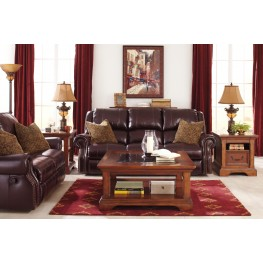 Walworth Blackcherry Power Reclining Living Room Set