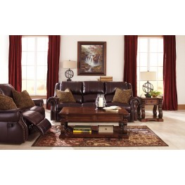 Walworth Blackcherry Reclining Living Room Set