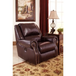 Walworth Blackcherry Rocker Recliner