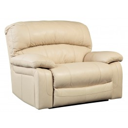 Damacio Cream Zero Wall Power Wide Recliner