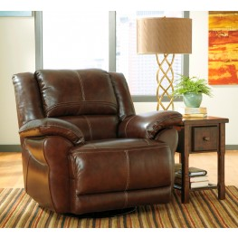 Lenoris Coffee Swivel Power Rocker Recliner