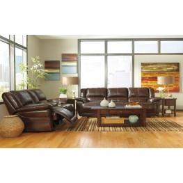 Lenoris Coffee Reclining Living Room Set