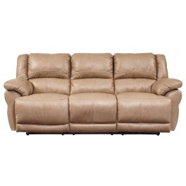 Lenoris Caramel Power Reclining Sofa