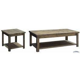 Joshua Creek Barnwood Occasional Table Set