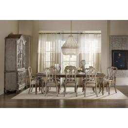Chatelet Brown Rectangular Extendable Leg Dining Room Set
