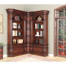 Versailles Small L-Shape Bookcase