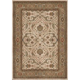 Radiance Insanely Soft Oriental Ankara Beige Large Area Rug