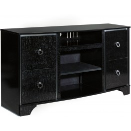 Amrothi Black TV Stand