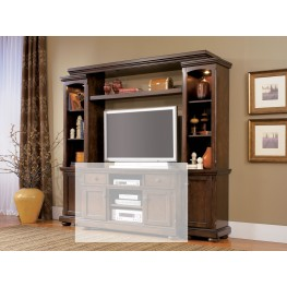 Porter Rustic Entertainment Wall - Without Console
