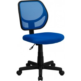Mid-Back Blue Task Chair and Computer Chair