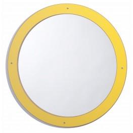 Framed Round Mirror