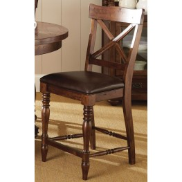 Wyndham Medium Cherry Counter Chair Set of 2