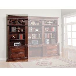 Wellington 2pc Lateral File With Hutch