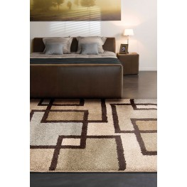 "Wild Weave Huffing Bisque Medium 90"" Rug"