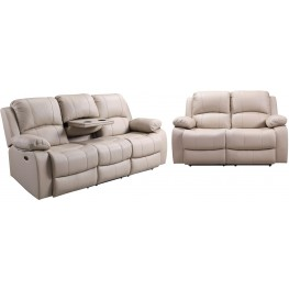 Shae Winnfield Taupe Power Reclining Living Room Set