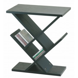 Zig Zag Black Accent Table