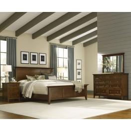 Westlake Cherry Brown Mansion Bedroom Set
