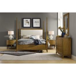 Retropolitan Beige Poster Bedroom Set