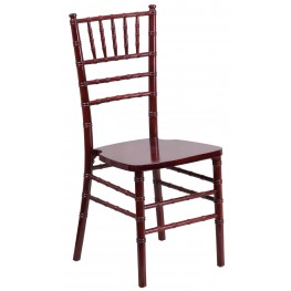 Flash Elegance Mahogany Wood Chiavari Chair