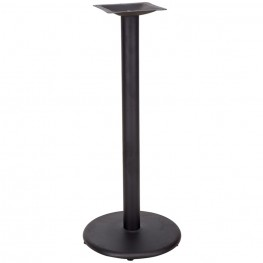 18'' Round Restaurant Table Base with 3'' Bar Height Column
