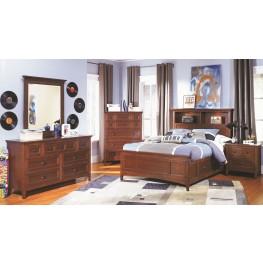 Riley Bookcase Bedroom Set