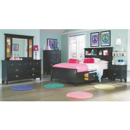 Bennett Bookcase Bedroom Set