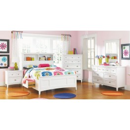 Kenley Youth Bookcase Dual Side Storage Bedroom Set
