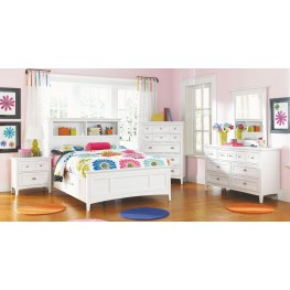 Kenley Youth Bookcase One Side Storage Bedroom Set