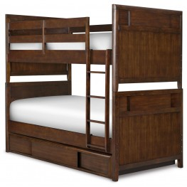 Twilight Twin over Twin Bed