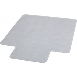 "45"" Carpet Chairmat with Lip"