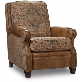 Brandy Brown Leather Recliner
