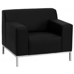 Hercules Definity Series Black Leather Chair