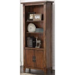 Restoration Brown Bookcase