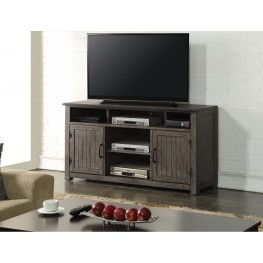 "Storehouse 60"" Gray TV Console"