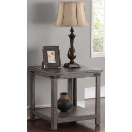 Storehouse Gray End Table