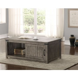 Storehouse Gray Occasional Table Set
