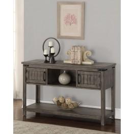 Storehouse Gray Sofa Table