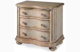 Belmar Antique Linen Drawer Nightstand
