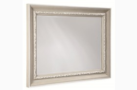 Chateaux Grey Landscape Mirror