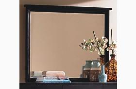 Luna Black Cherry Landscape Mirror