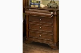 Whitley Court Tobacco Nightstand
